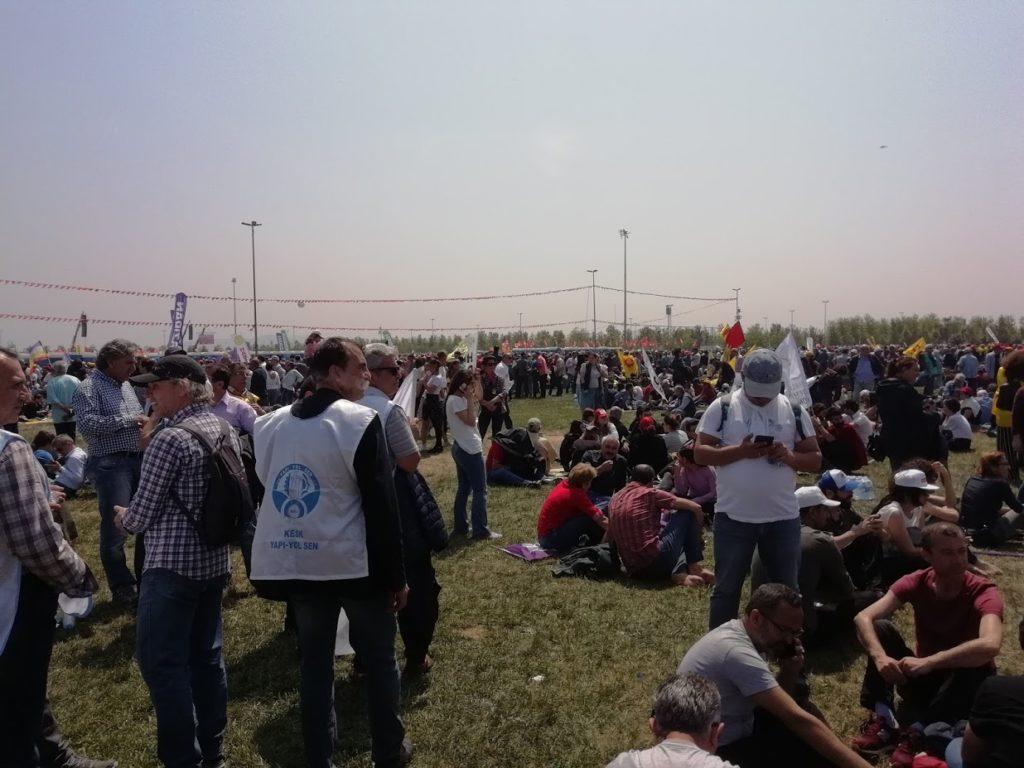 Çimenlik, 1 Mayıs 2018