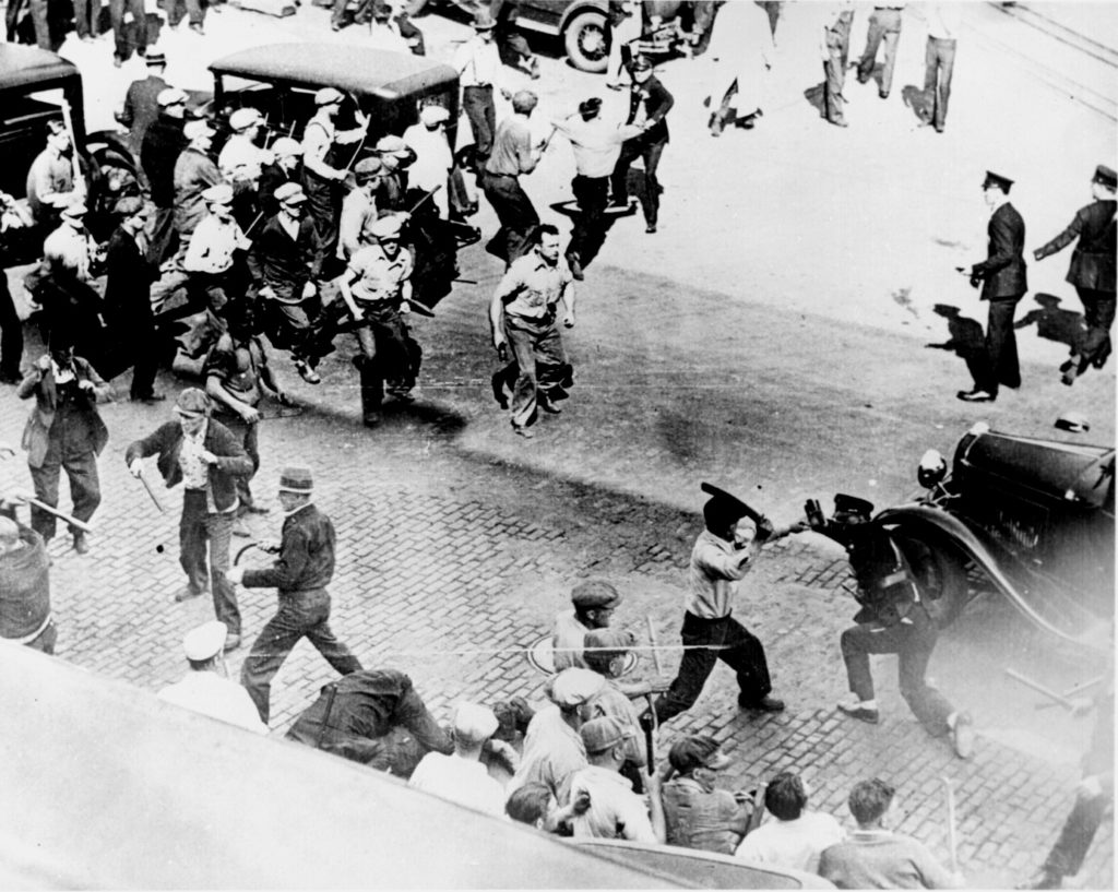 1934 grev çatışması