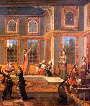 Jean-Baptiste van Mour, Sultanlı Harem Sahnesi