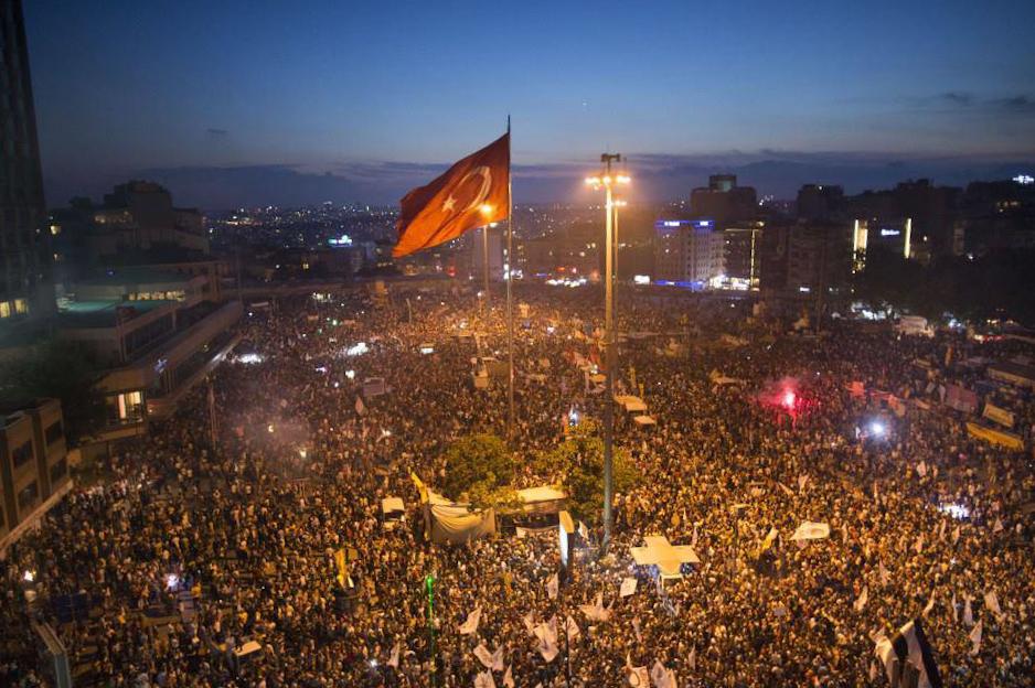 Taksim 15 Haziran 2013 01.46
